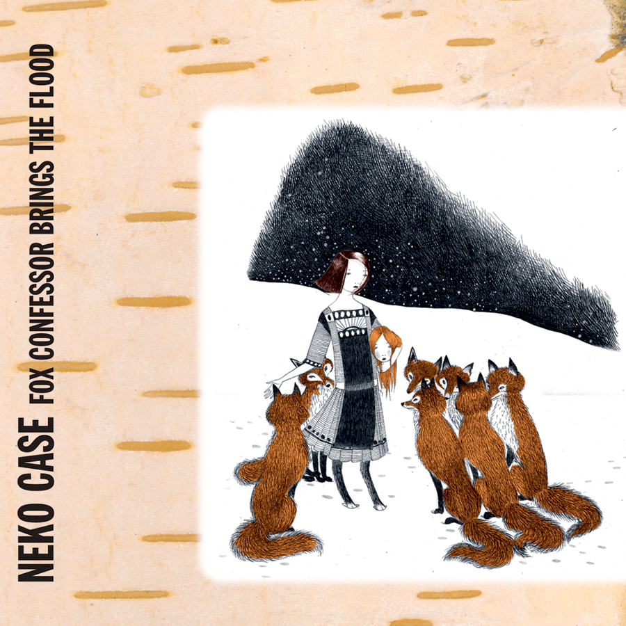 neko case fox confessor brings the flood lp record store day