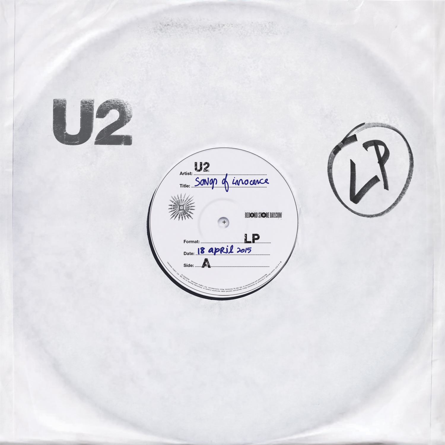 U2 - Songs of Innocence (Record Store Day Deluxe Exclusive Vinyl)