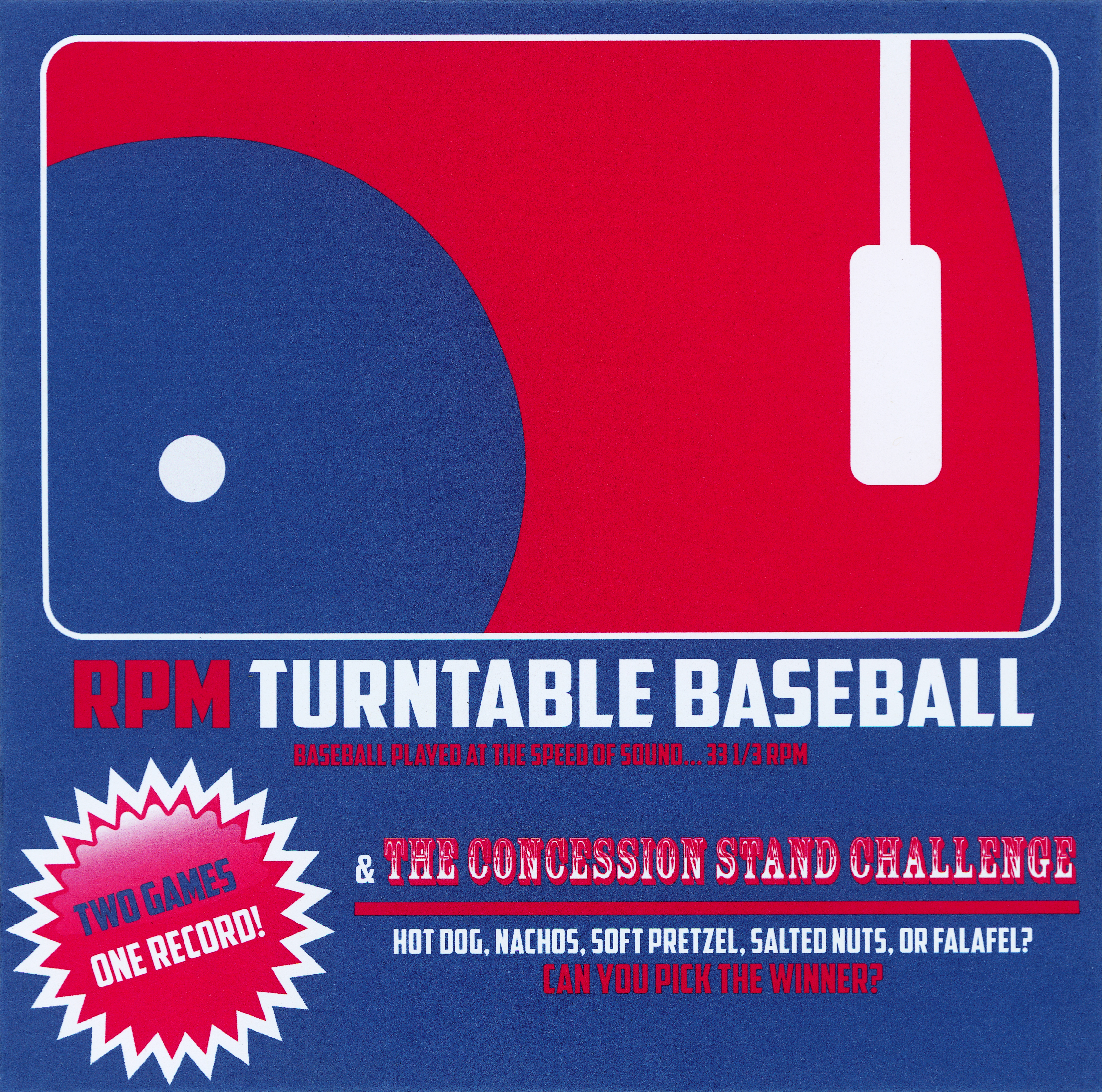 - Two Games, One Record (A Two-Player Game Played at 33 1/3 RPM)
