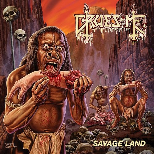 Gruesome - Savage Land [Colored Vinyl] (Red) [Reissue]