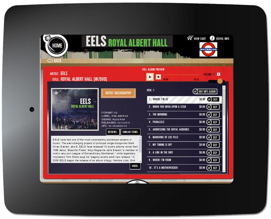 Eels - Kiosk Item Page