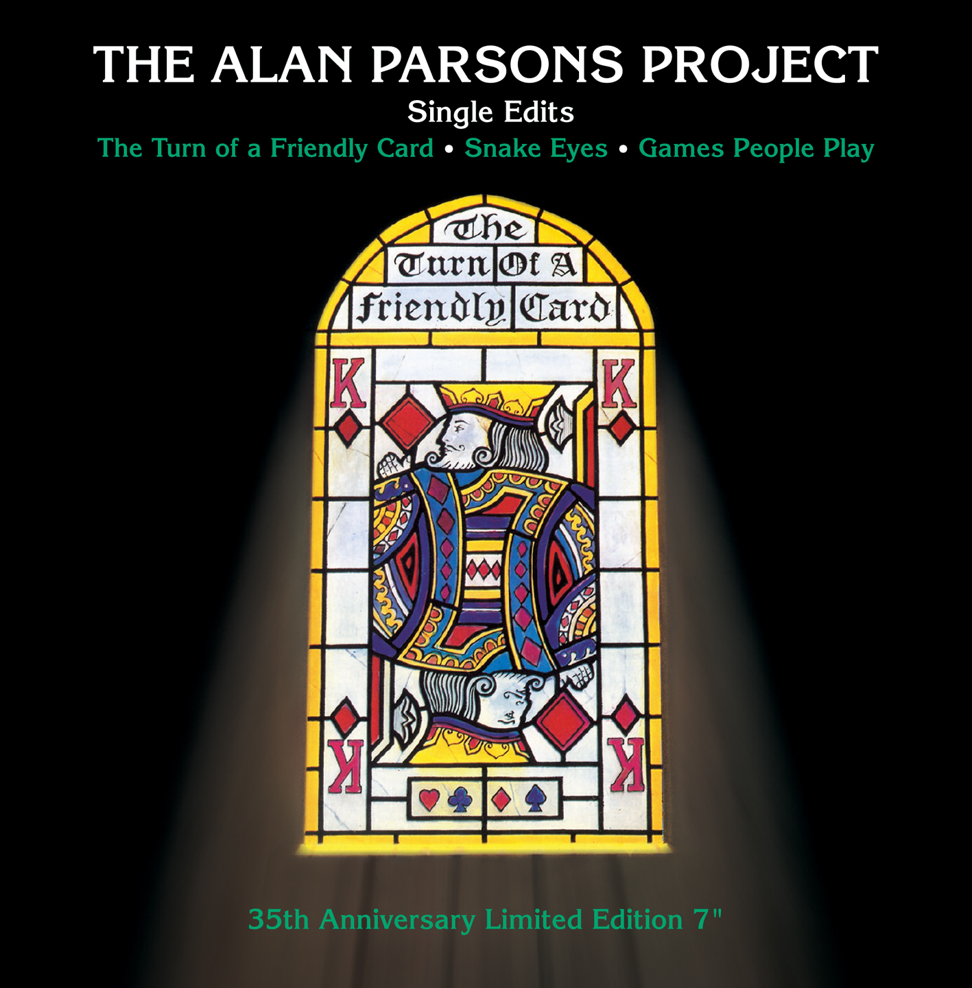 Alan Parsons Project - The Turn of A Friendly Card--The Singles