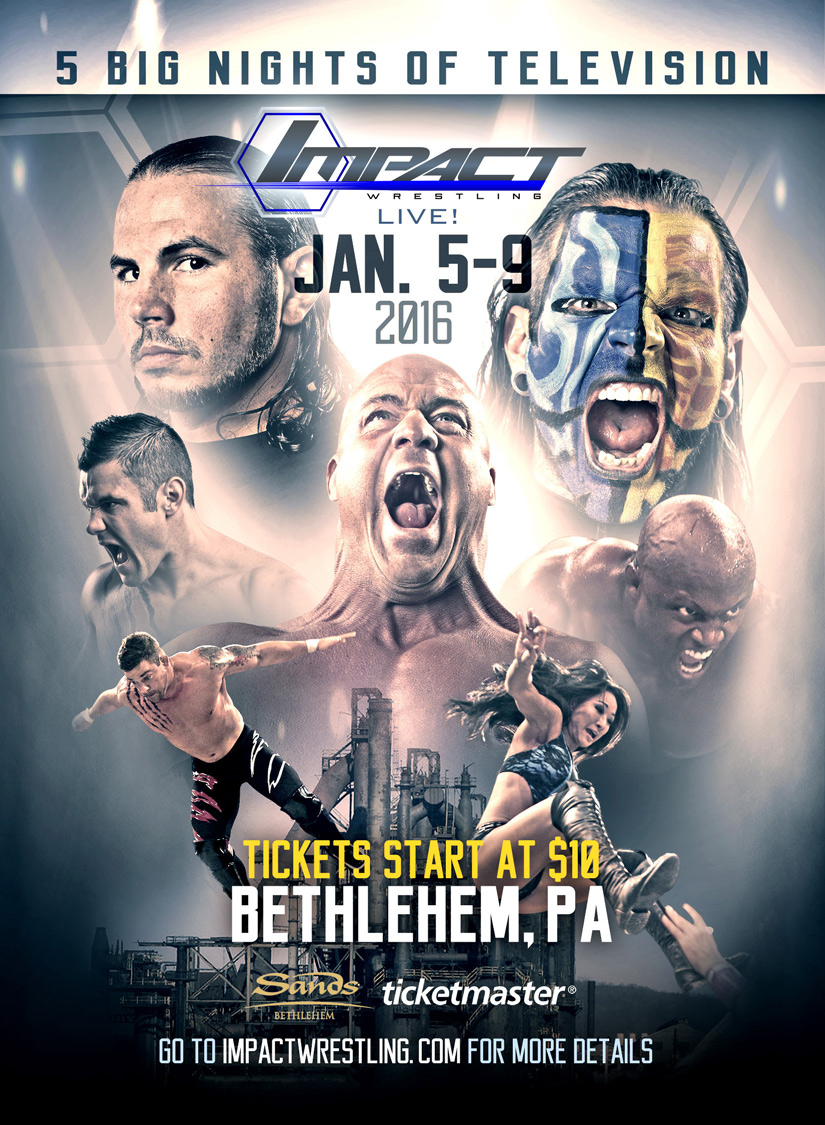 TNA IMPACT WRESTLING Ticket Giveaway!!