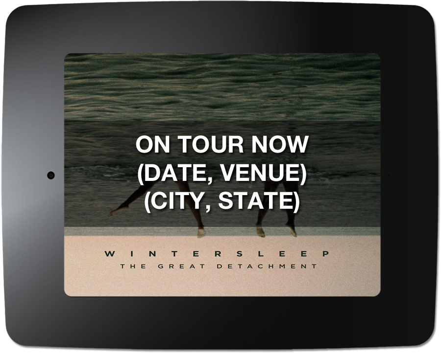 Wintersleep - Kiosk Screen Saver - Tour Support