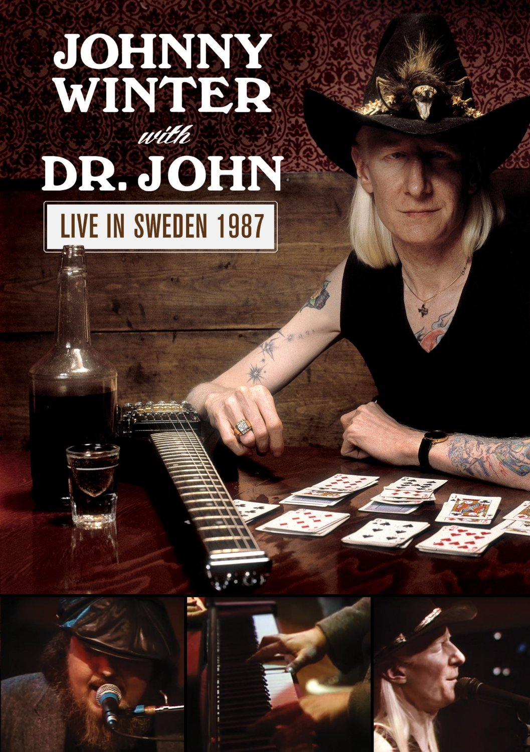 Johnny Winter With Dr. John - Live In Sweden 1987 [DVD]