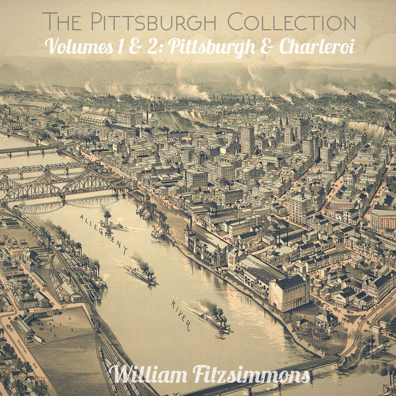 William Fitzsimmons - The Pittsburgh Collection: Volumes 1 & 2: Pittsburgh & Charleroi [Vinyl]