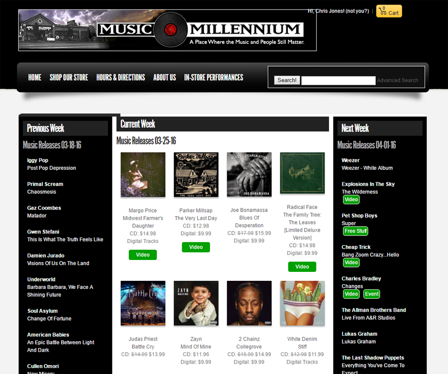 Parker Millsap - New Release Page