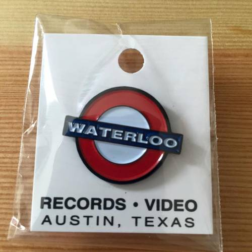 Waterloo Pin