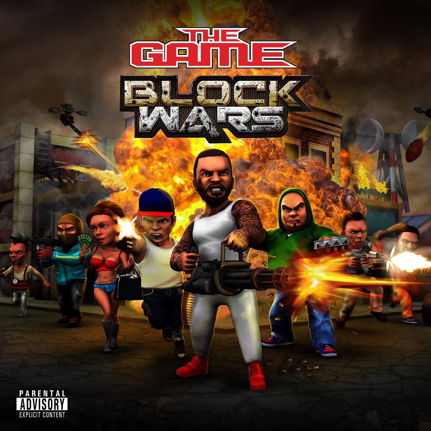 The Game - Block Wars [Soundtrack]