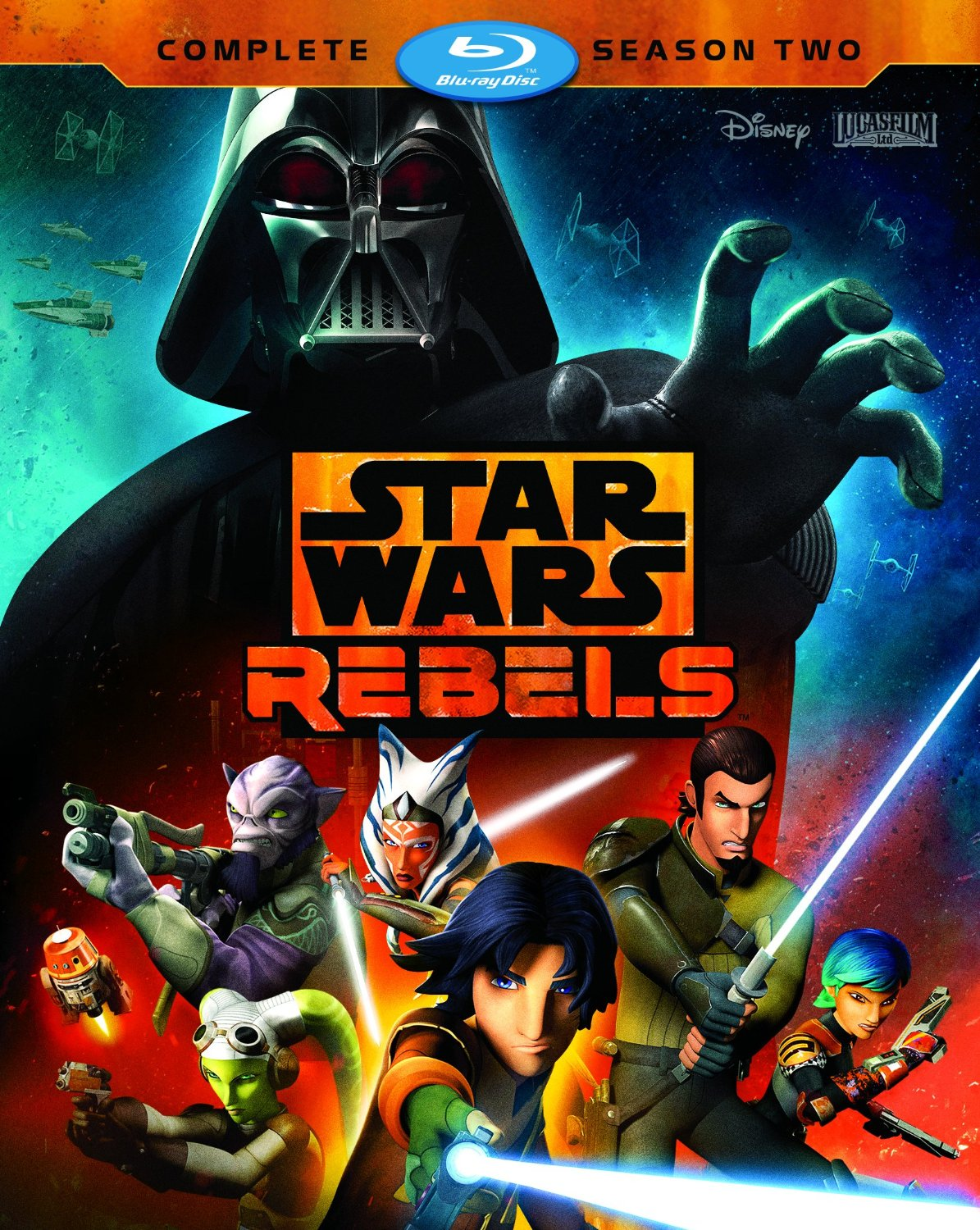 Star Wars Rebels [TV Series] - Star Wars Rebels: Complete Season Two