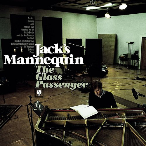 Jack's Mannequin - Glass Passenger [Limited Gatefold, 180-Gram Silver Colored Vinyl]