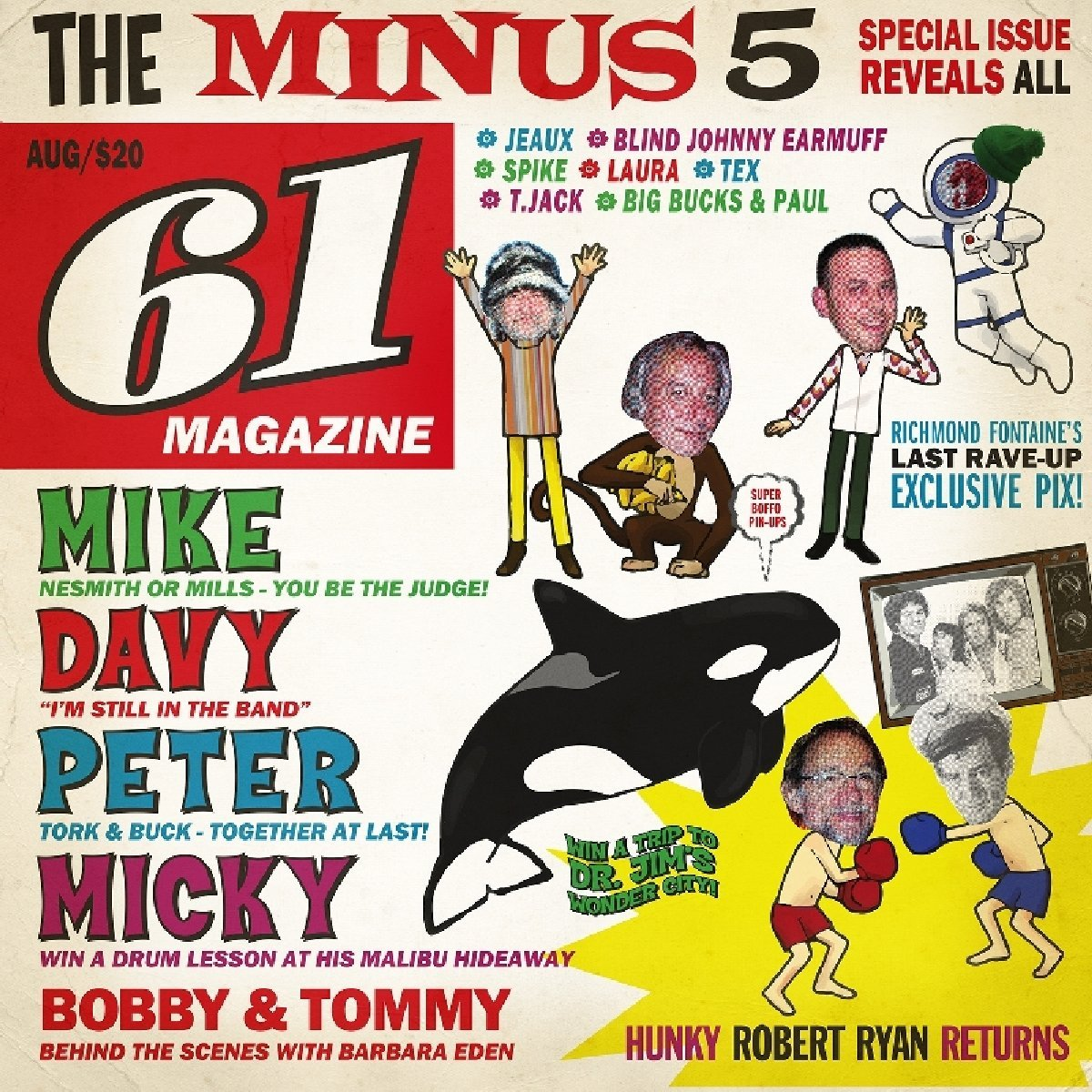 The Minus 5 - Of Monkees & Men