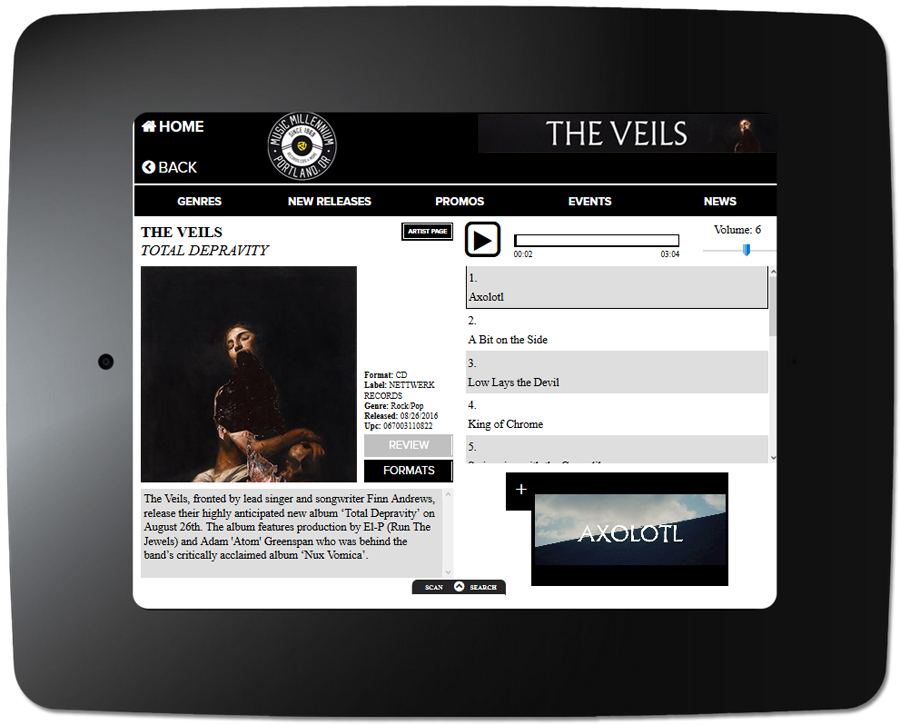 The Veils - Kiosk Item