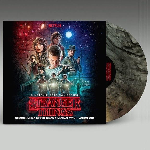 Kyle Dixon & Michael Stein - Stranger Things Soundtrack Vol.1 [Indie Exclusive Limited Edition Clear With Black Smoke Vinyl]