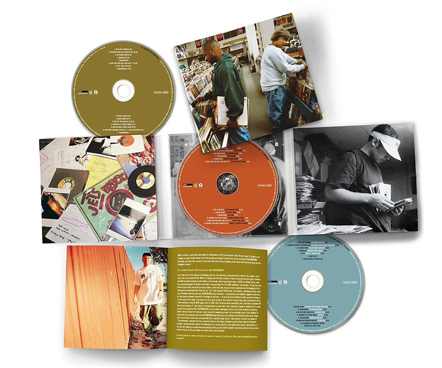 DJ Shadow - Endtroducing [Deluxe Edition 3CD]