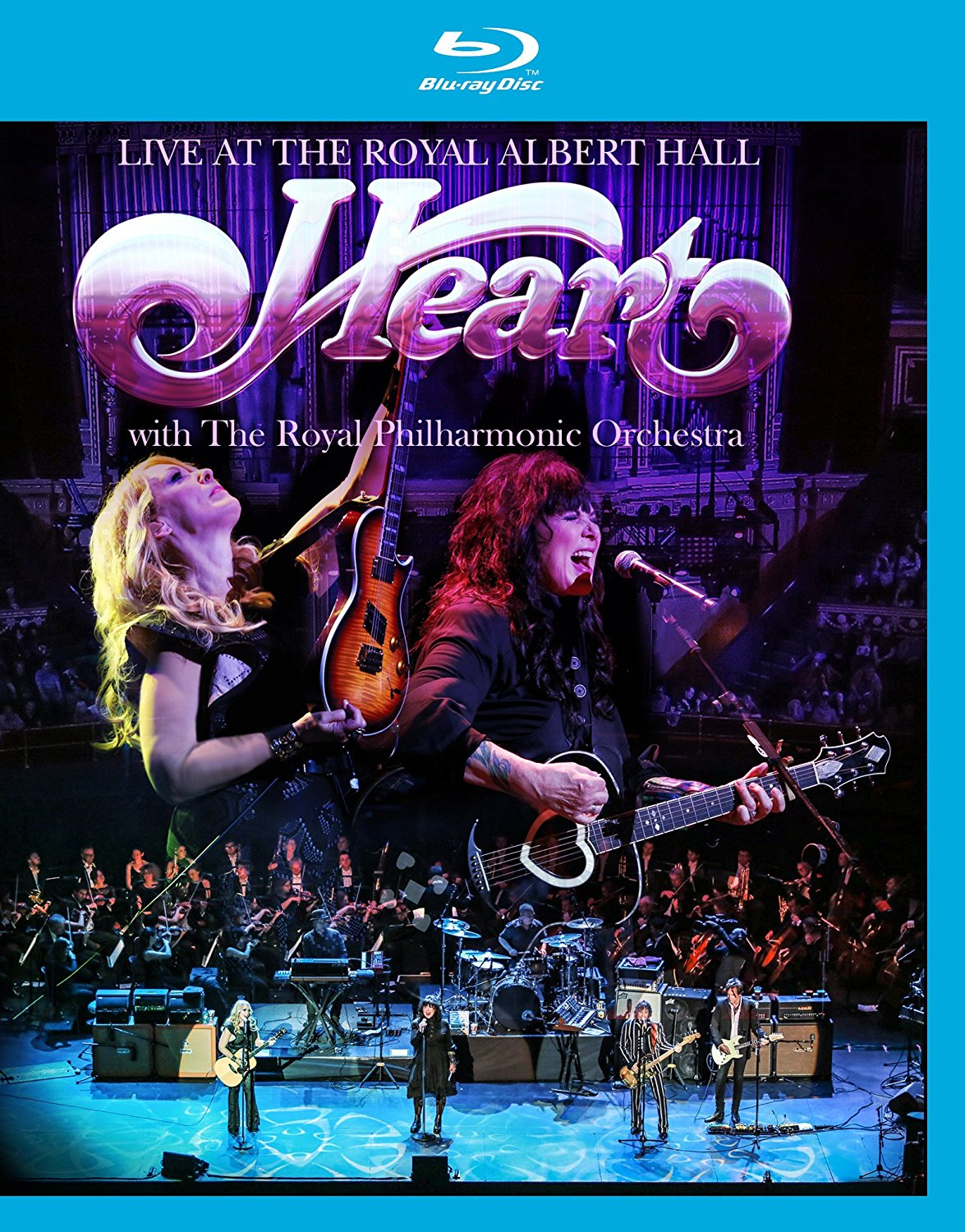 Heart - Live at The Royal Albert Hall with The Royal Philharmonic Orchestra [Blu-ray]