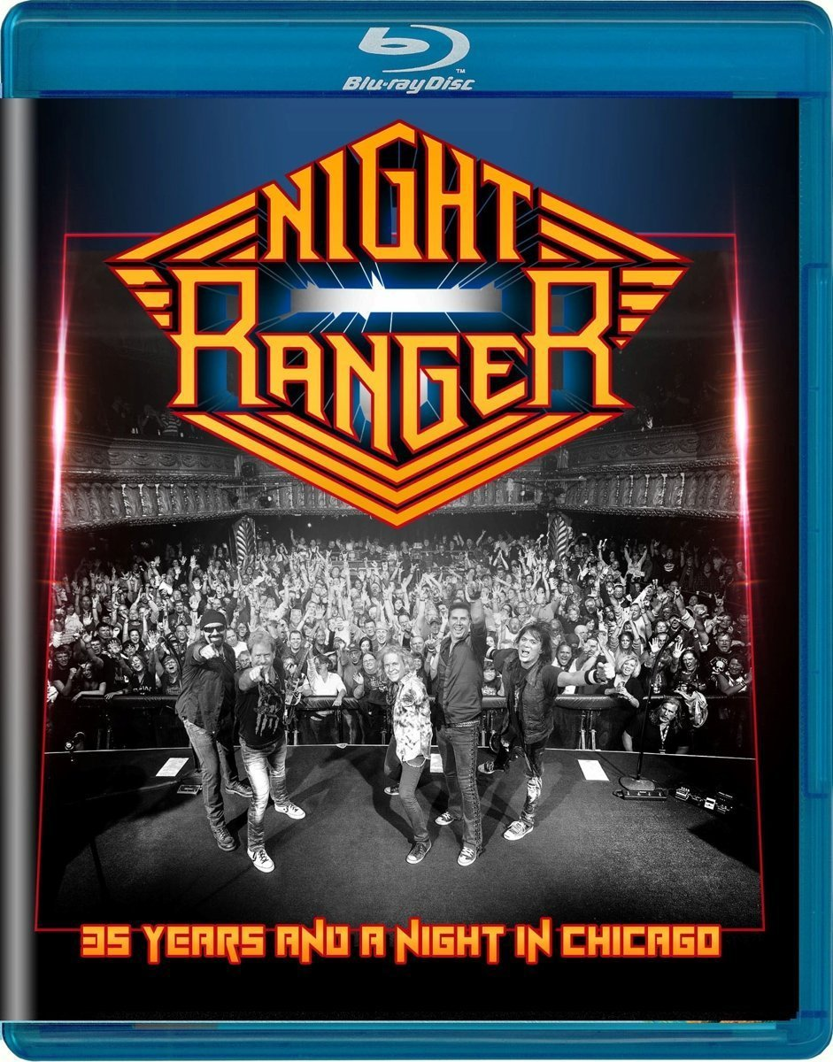 Night Ranger - 35 Years And A Night In Chicago [Blu-ray]