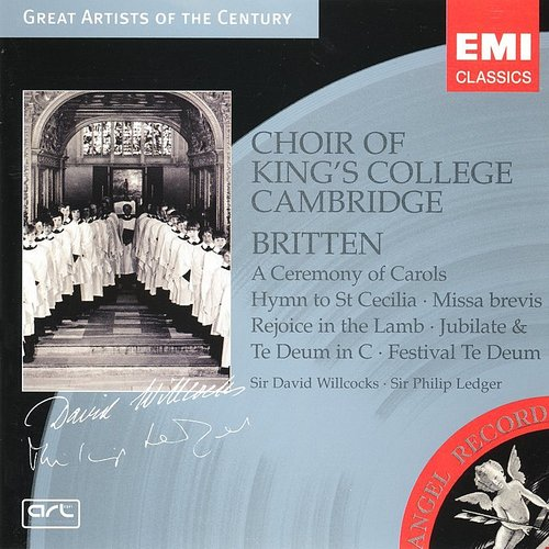 Choir of King's College, Cambridge - Britten: A Ceremony Of Carols