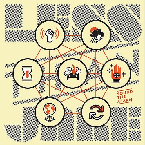Less Than Jake - Sound The Alarm EP [Indie Exclusive Limited Edition Cream/Orange Smash Vinyl]