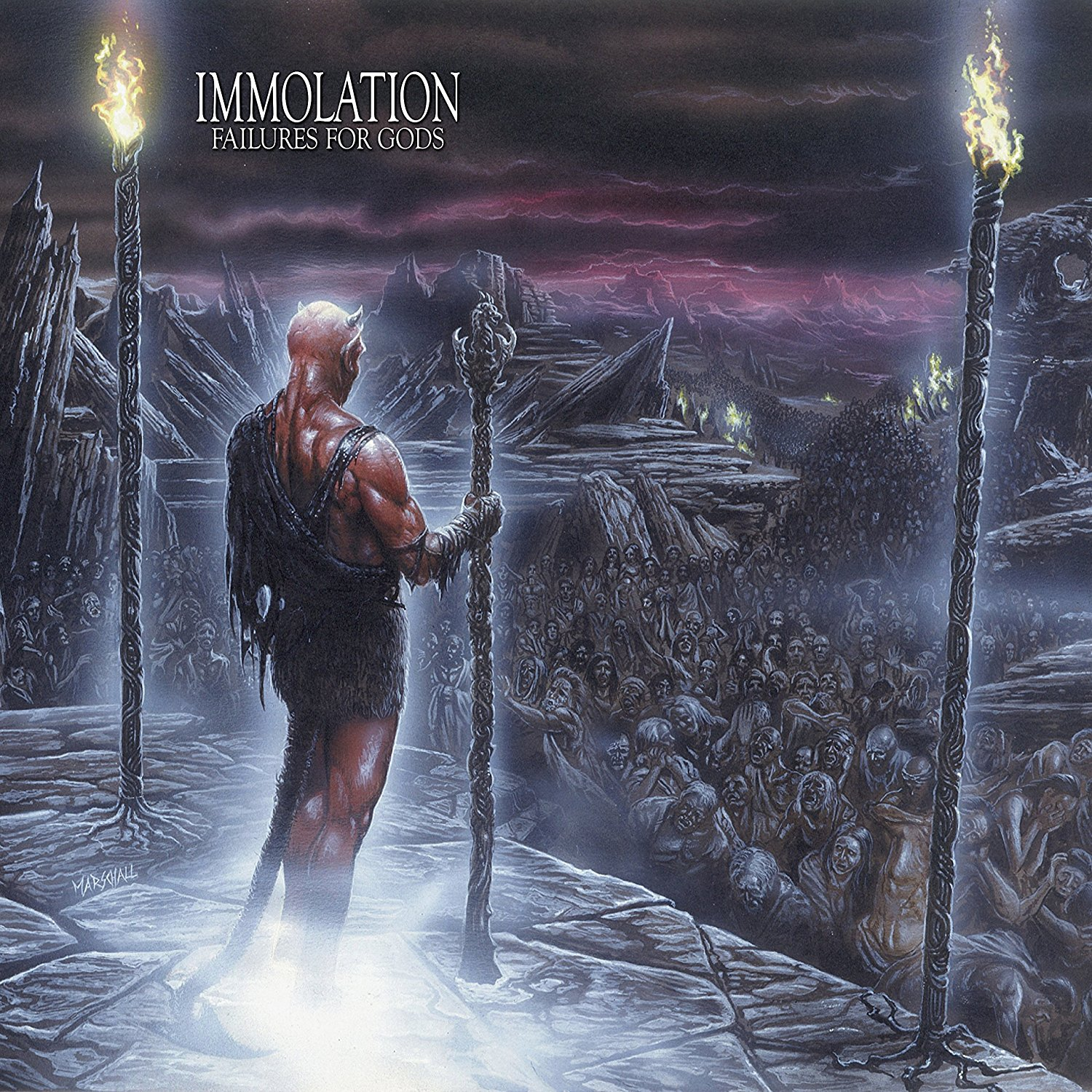 Immolation - Failures For Gods (Pict) (Uk)
