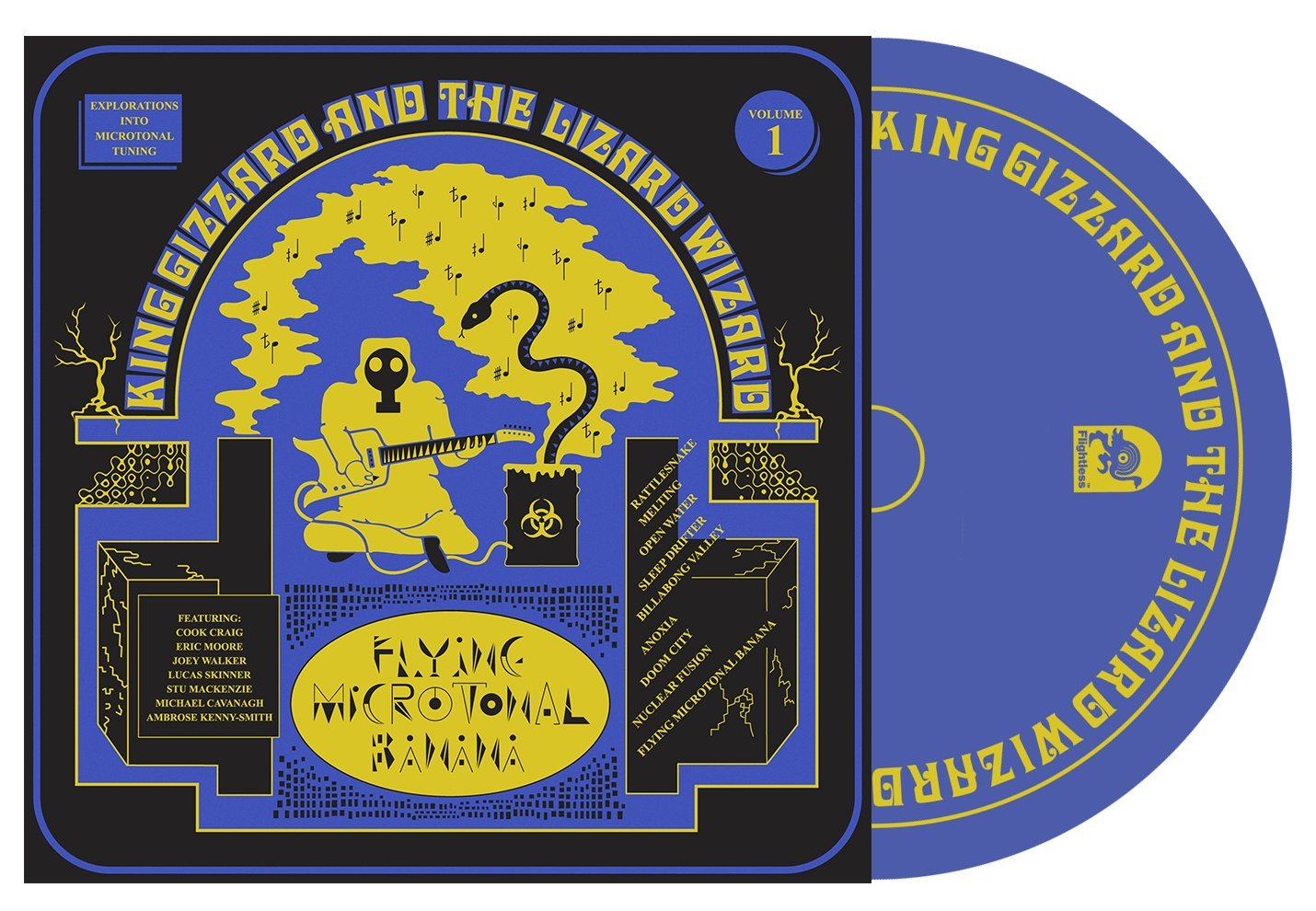 King Gizzard & The Lizard Wizard - Flying Microtonal Banana
