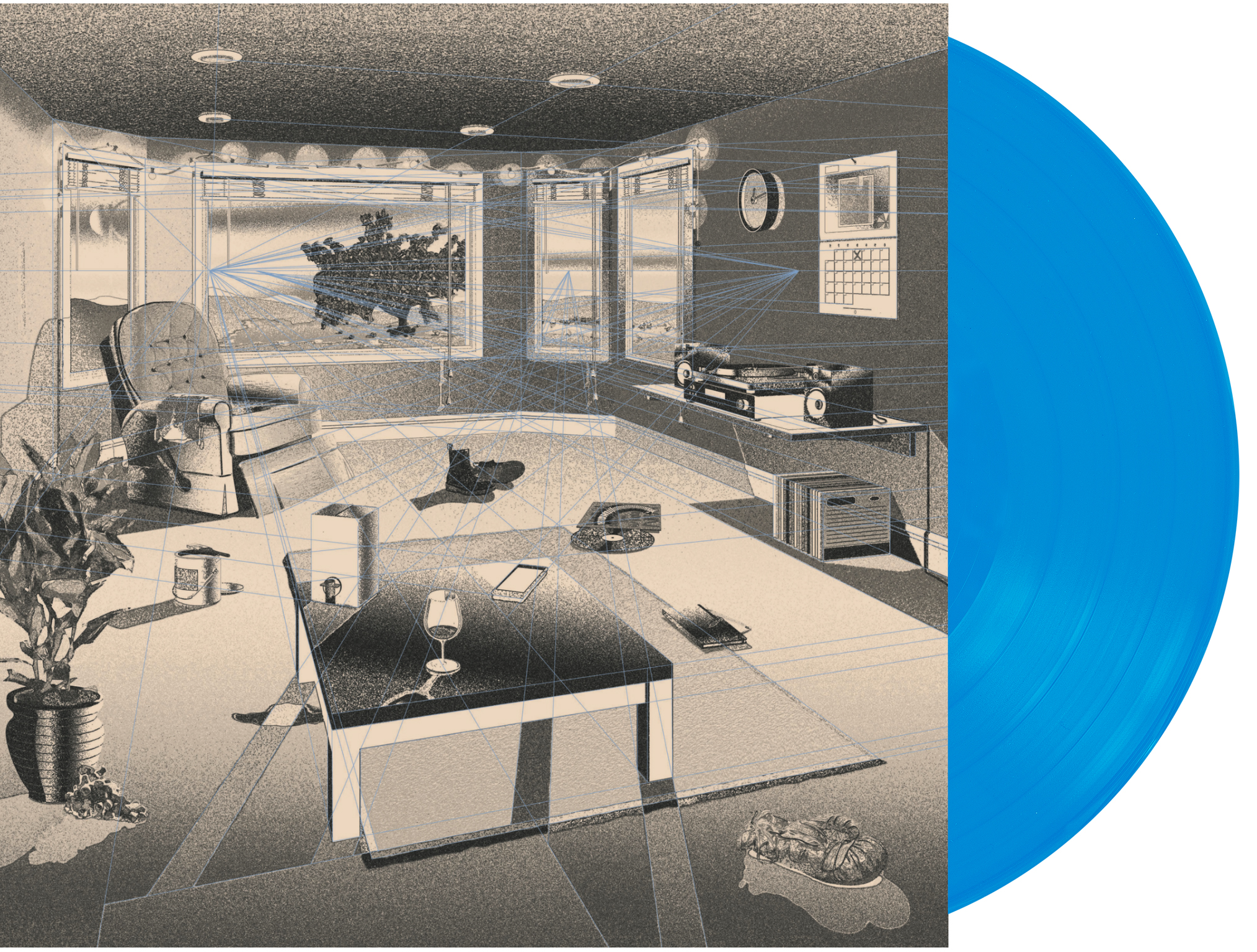 Hippo Campus Blue Vinyl (Electric Fetus exclusive) Pre-orders