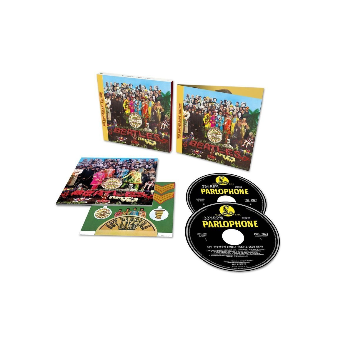 The Beatles - Sgt. Pepper's Lonely Hearts Club Band: Anniversary Edition [2CD Deluxe Edition]