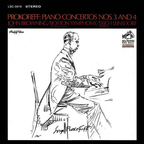 John Browning - Piano Concerto No. 3 In C Major, Op.26: Prokofiev: Piano Concerto No. 3 In C Major, Op.26 & Piano Concerto No. 4 In B-Flat M