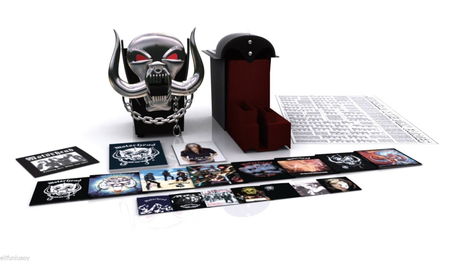 Win the Limited Edition Motorhead Box Set housed in a replica of Motorhead's iconic pig skull!