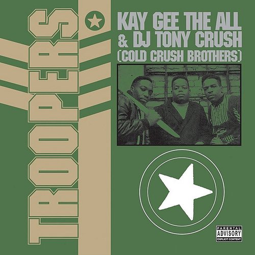 Cold Crush Brothers - Troopers (Blk) (Ofgv) (Uk)