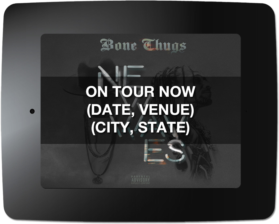 Bone Thugs - Kiosk Screen Saver - Tour Support