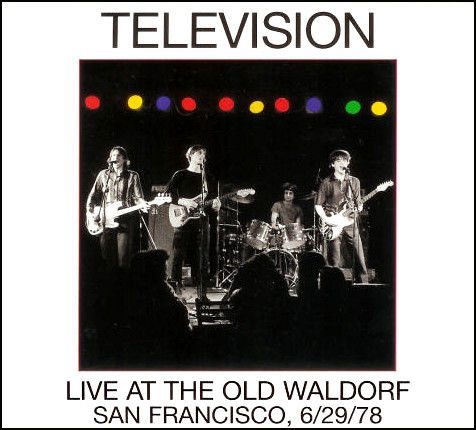 TELEVISION LIVE AT THE OLD WALDORF - RECORD STORE DAY VINYL CLUB
