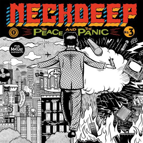 Neck Deep - The Peace and The Panic [White LP]