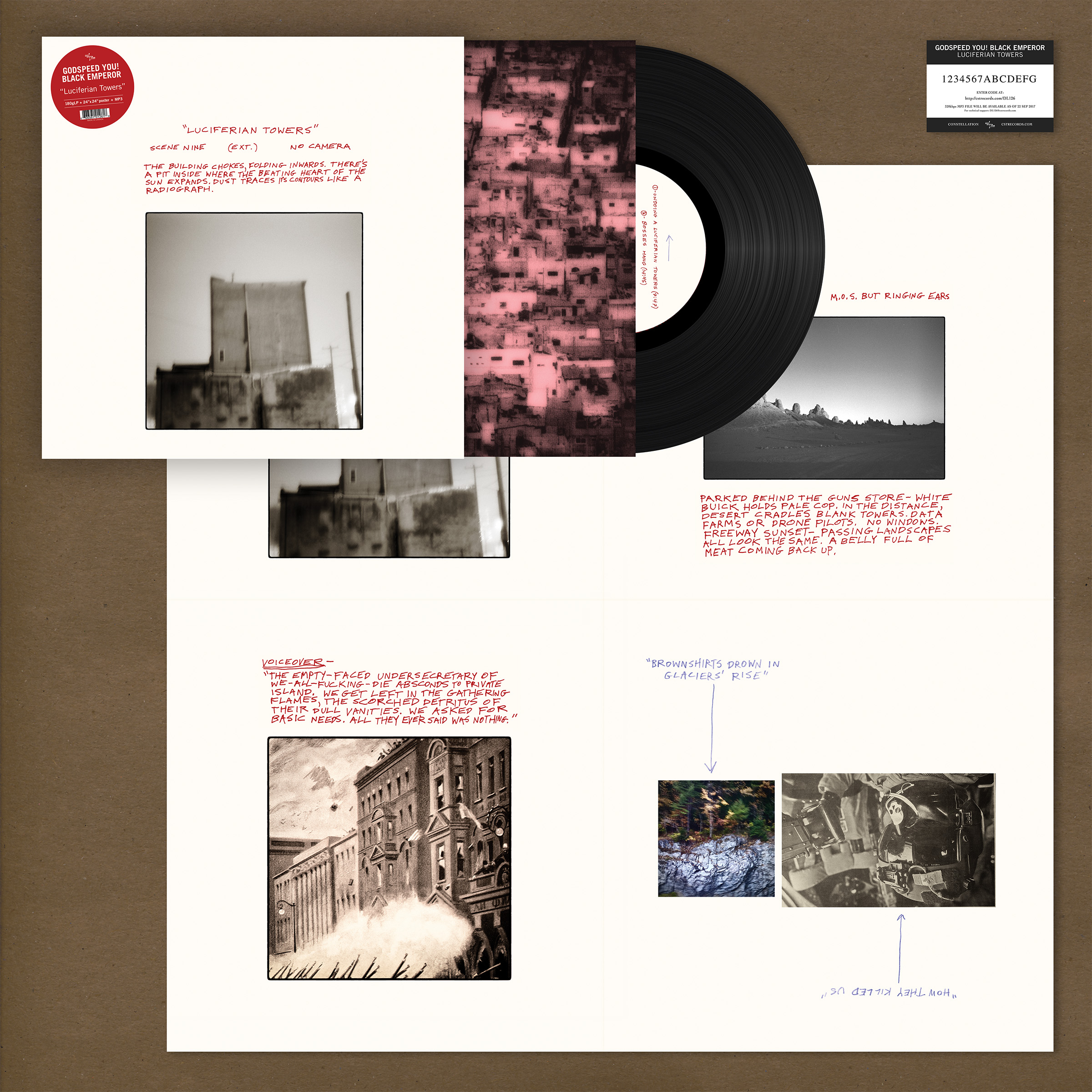 Godspeed You! Black Emperor - Luciferian Towers [LP]