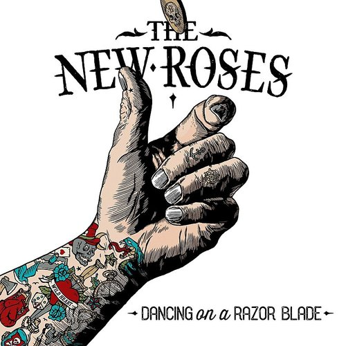 The New Roses - Dancing On A Razor Blade - Single