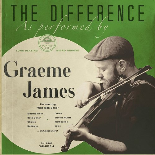 Graeme James - The Difference - Single