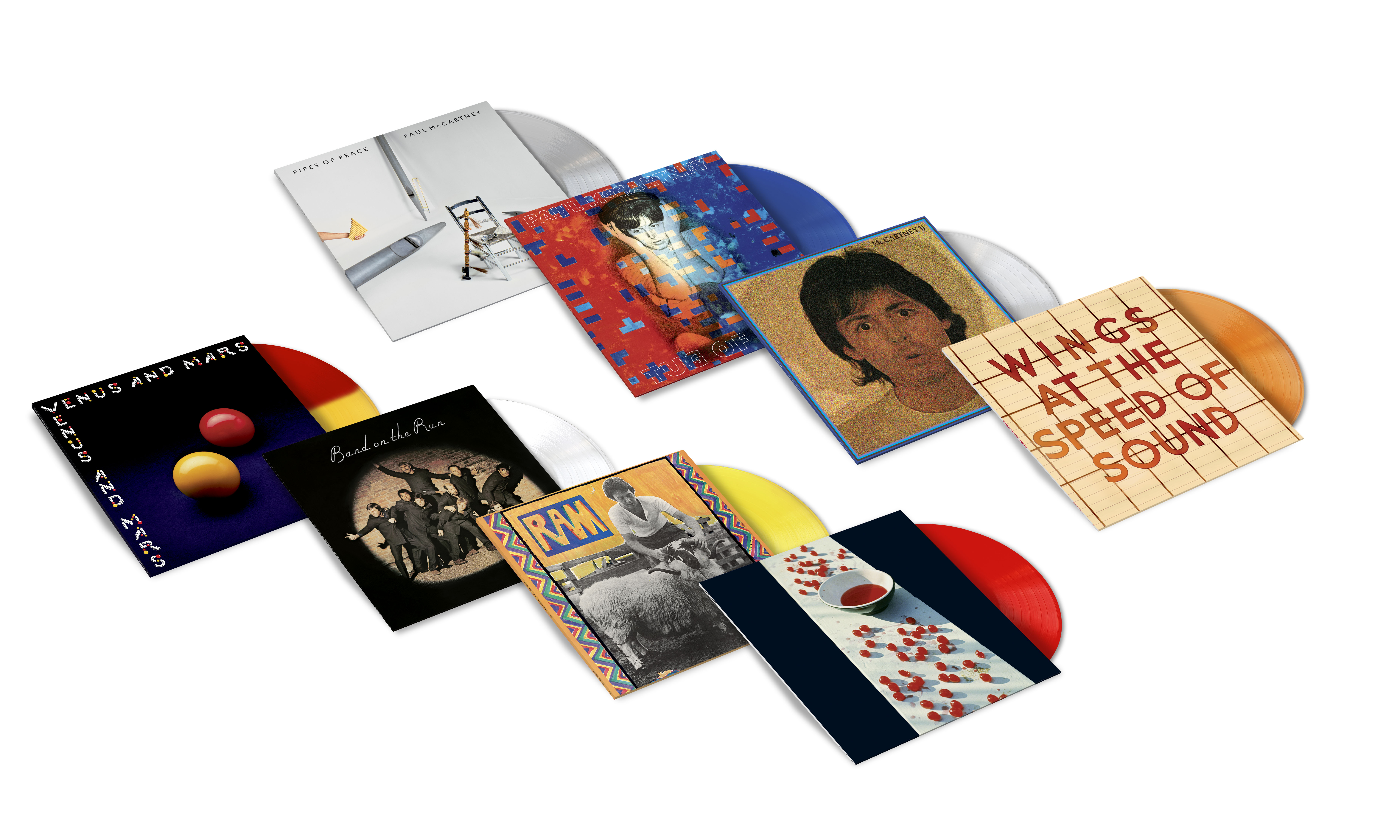 PAUL McCARTNEY VINYL REISSUES