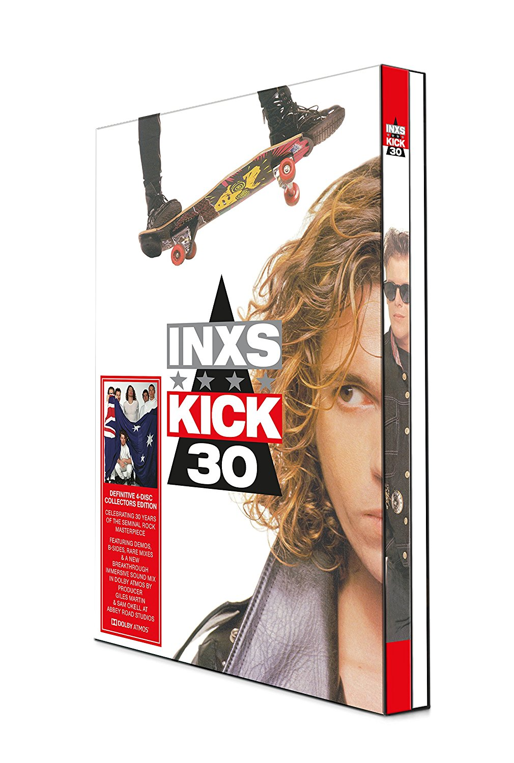 INXS - Kick: 30th Anniversary Edition [Deluxe 3CD/Blu-ray]