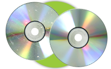 We fix scratched CDs