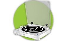 We sell turntables audio technical musichall project