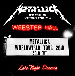 Metallica - Live at Webster Hall, New York: 9/27/16 [Indie Exclusive Limited Edition 3LP]