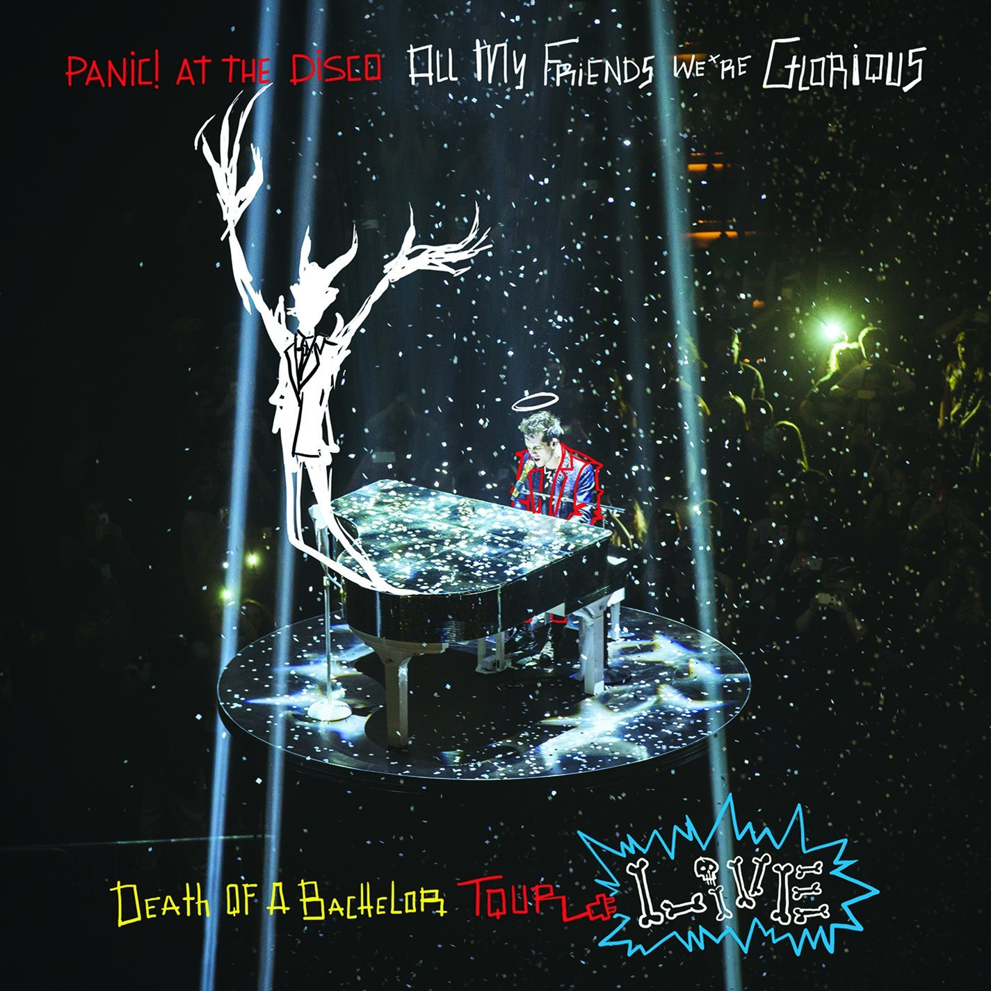 Panic! At The Disco - All My Friends, We're Glorious: Death Of A Bachelor Tour Live [LP]