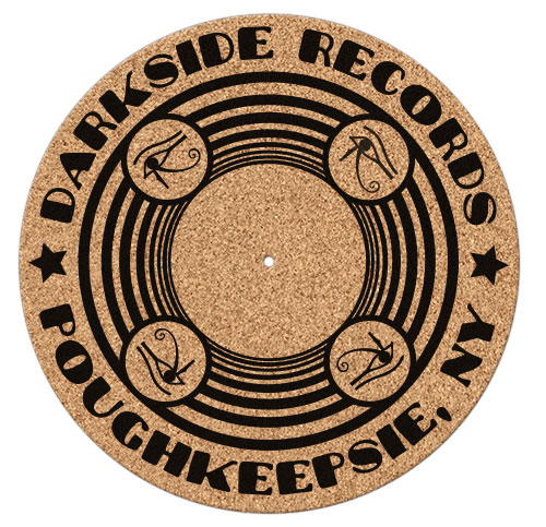 Darkside Records - Cork Turntable Mat