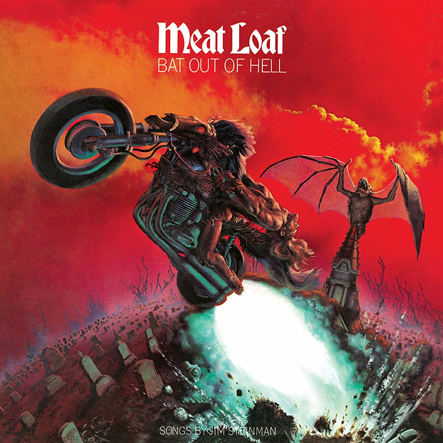 Meat Loaf - Bat Out Of Hell [Clear Vinyl]