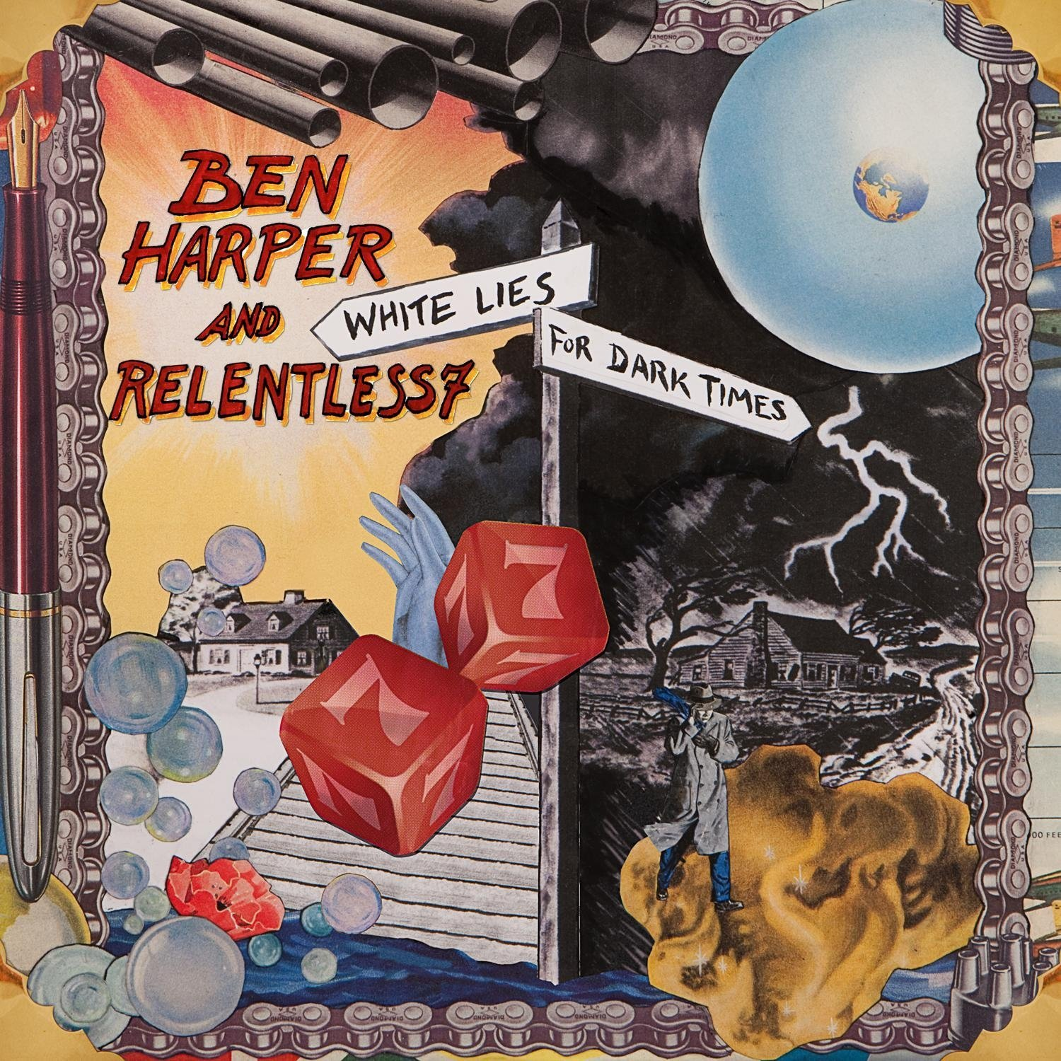 Ben Harper And Relentless 7 - White Lies For Dark Times [LP]