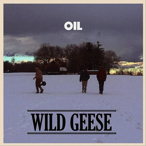 Oil - Wild Geese