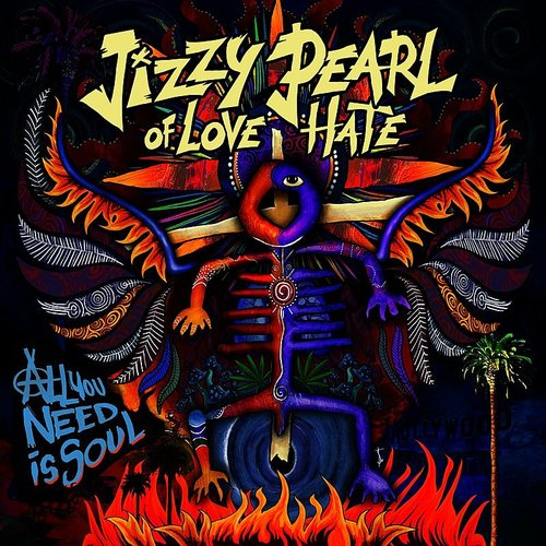 Jizzy Pearl - High For An Eye - Single
