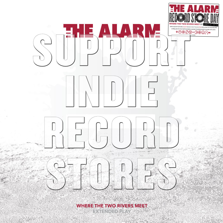 THE ALARM'S TRANSCONTINENTAL RECORD STORE DAY!