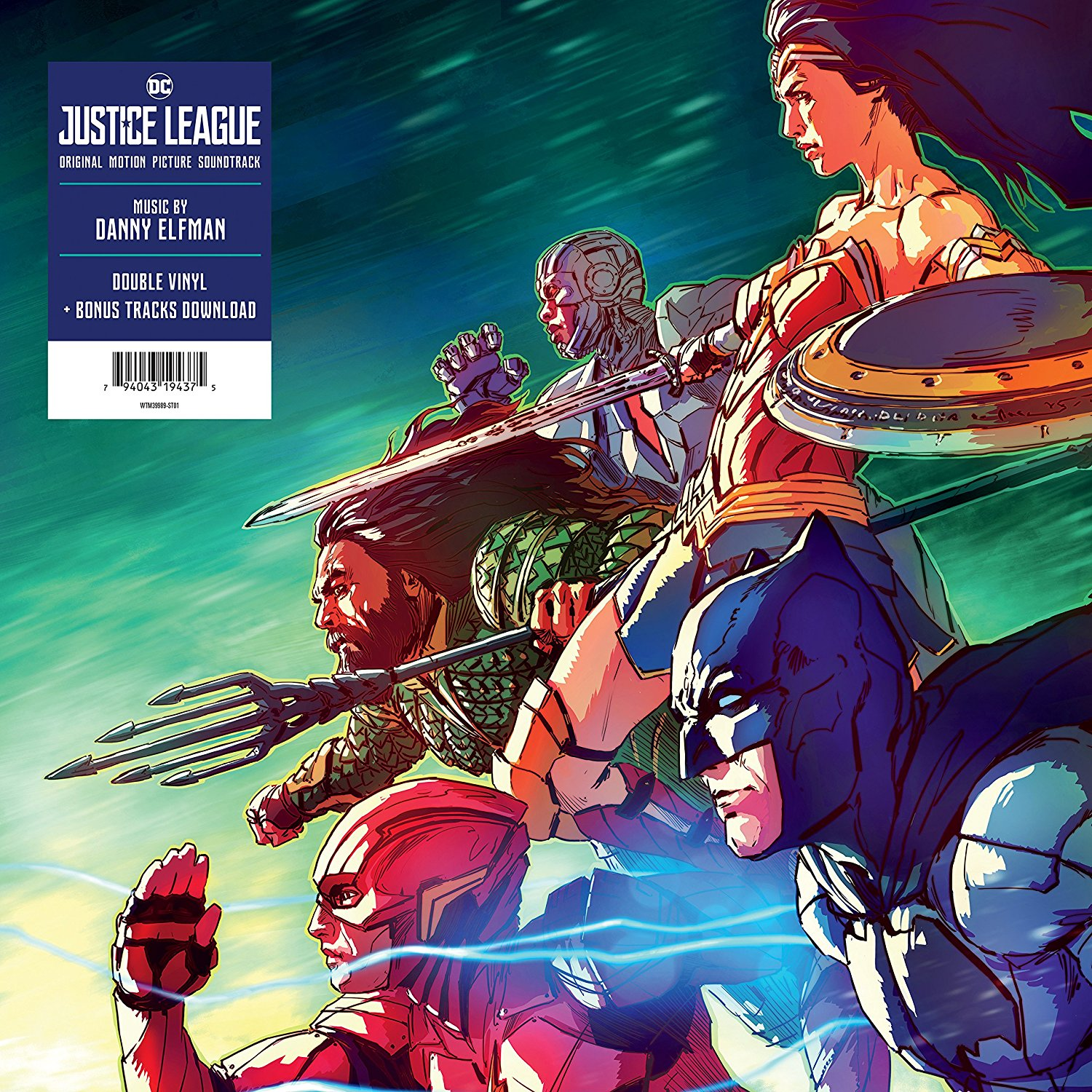 Danny Elfman - Justice League: Original Motion Picture Soundtrack [LP]