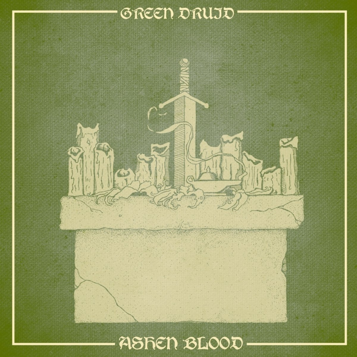 Green Druid - Ashen Blood [LP]